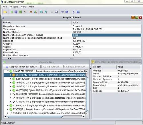 Java heap dump触发和分析