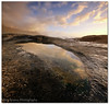 Maiden's Cove Rock Pool (Panorama Paul) Tags: sunset reflections rockpool maidenscove nohdr sigmalenses nikfilters vertorama nikond300 wwwpaulbruinscoza paulbruinsphotography slipperyasanything inearlyfellonmyasstwice