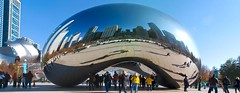 bean_panorama (Michelle Garrett) Tags: thanksgiving city november autumn panorama chicago reflection fall skyline architecture cityscape millenniumpark cloudgate thebean downtownchicago greektown chicagoskyline chicagopanorama cloudgatepanorama chicagoskylinereflection millenniumparkpanorama thebeanpanorama