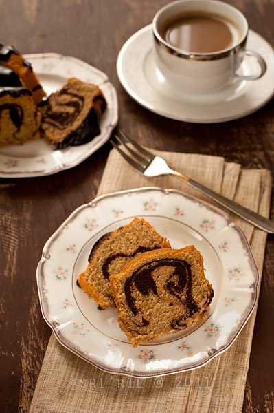 marble coffee cake