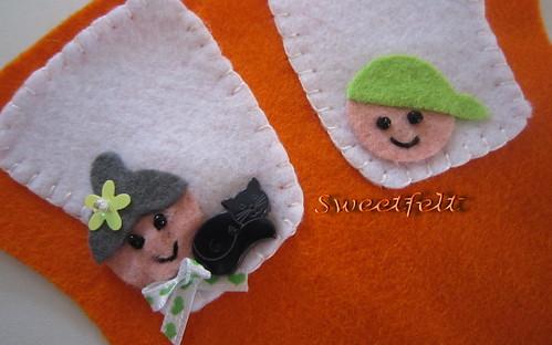 Olá!! by sweetfelt \ ideias em feltro