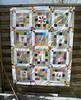 European Stories (monaw2008) Tags: square quilt handmade bee fabric swap block patchwork applique monaw monaw2008 theeurobeeblock