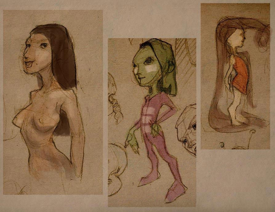 Nixa's sketchbook