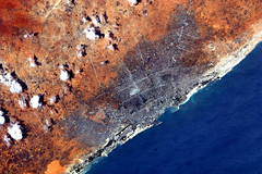 Which east African capital city? (astro_paolo) Tags: nasa iss somalia esa mogadishu internationalspacestation earthfromspace europeanspaceagency expedition27 magisstra