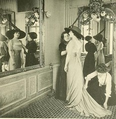 Les Createurs de La Mode 1910 - 48 Un Esseyage (CharmaineZoe) Tags: paris fashion designer 1910 edwardian fashionhouse
