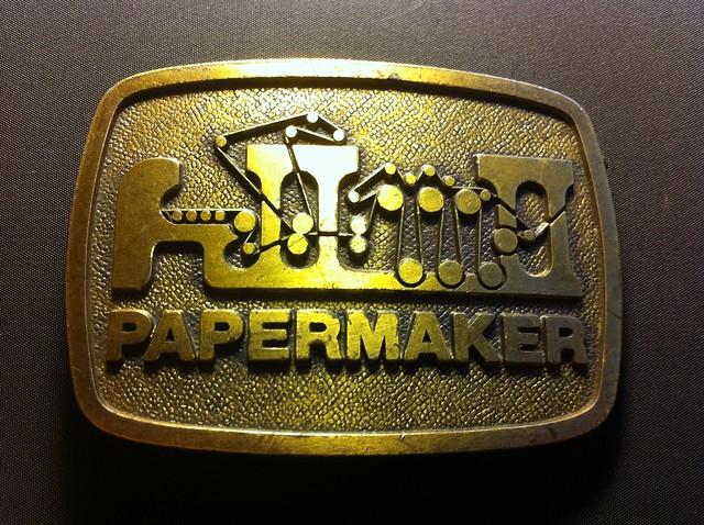 Papermaker Belt Buckle