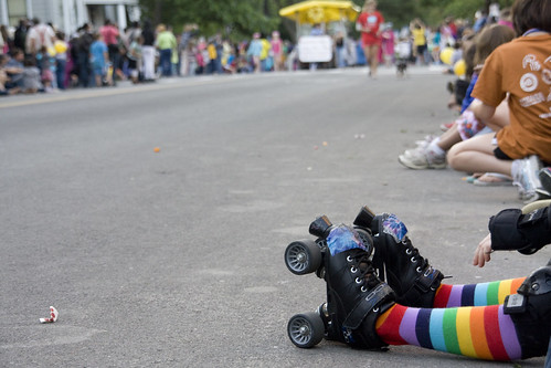 The Ithaca Festival Parade kicked off the festival on June 2