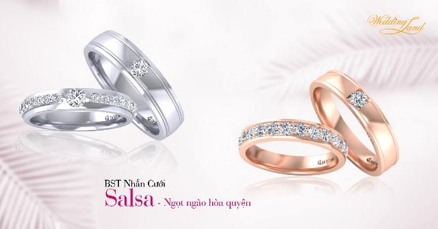 """BST Nhẫn cưới DOJI thay lời """"Vì ta mãi yêu"""""""