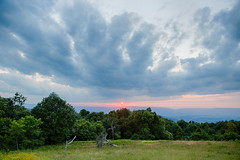 Sunset (ExceptEuropa) Tags: canon6d virginia canon cloud color forest horizon itscd nationalpark nature nps outdoor photographer photography shenandoah shenandoahnationalpark sky sunset travel trees usa va