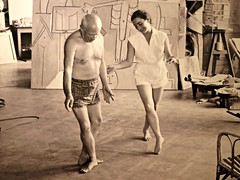 Let's Dance (knightbefore_99) Tags: picasso muses exhibition vag vancouver art gallery photo pablo painter french spain cool dance step awesome sepia