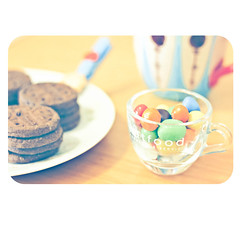 sweet breakfast (sayonara80) Tags: life colors breakfast canon photography photo soft photos sweet chocolate candid dolce mm stil