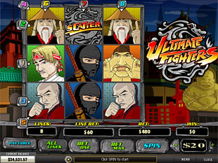 Ultimate Fighters slot game online review