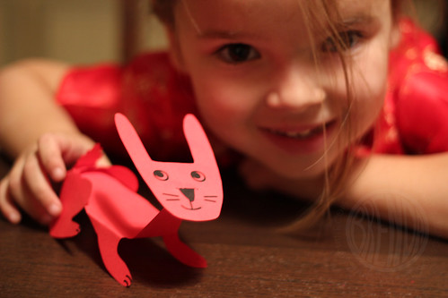 her bunny