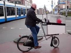 popemobile bike amsterdam 1 (@WorkCycles) Tags: holland netherlands amsterdam electric kids homebuilt bakfiets selfbuilt fietsfabriek transportbike tmannetje workcycles boxbike
