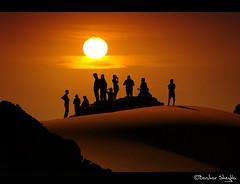 One Family ! (Bashar Shglila) Tags: family sunset people sun sahara spain sand desert tourist spanish libya   akakus       awinat tripleniceshot mygearandme mygearandmepremium mygearandmebronze mygearandmesilver mygearandmegold mygearandmeplatinum mygearandmediamond dblringexcellence artistoftheyearlevel4