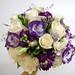 lisianthus, roses, stock, freesia