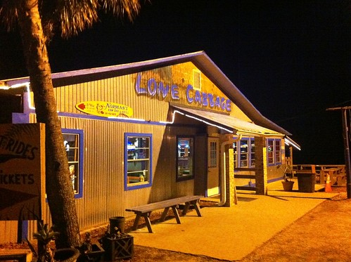 Dinner at Lone Cabbage Fish Camp