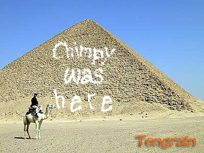 Chimpy-was-here-Pyramid