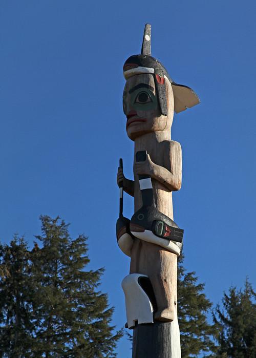 totem pole, Klawock Totem Park, Klawock, Alaska