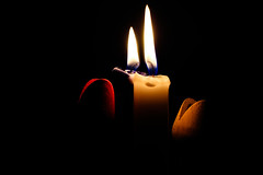 Just me and you (felice_) Tags: light love canon fire candle candela amore luce fuoco 550d