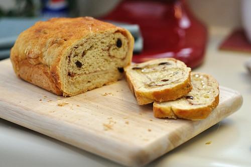 No Knead Cinnamon Swirl Bread