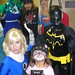 Billy Blair with Costumed Crusaders and a kitty