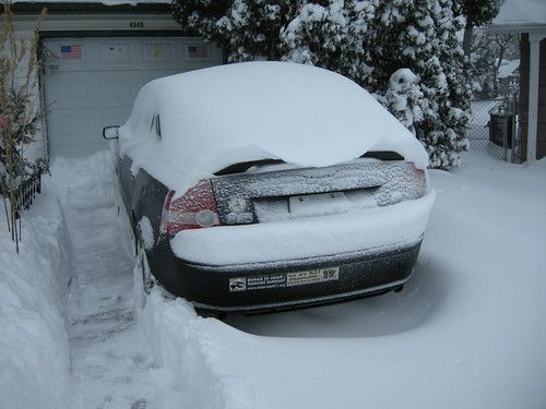 My Buried Volvo
