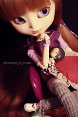 2 of 12 (Amarie Photography ©) Tags: canon doll purple body sala blond wig groove pullip ph limited edition fh sola lala alize muñeca photostory obitsu junplanning fotohistoria rewigged