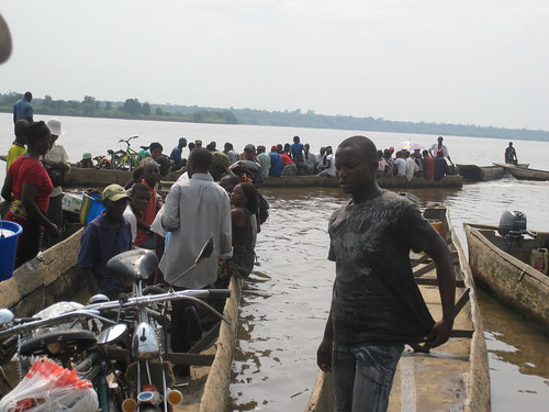 the port in Kisangani