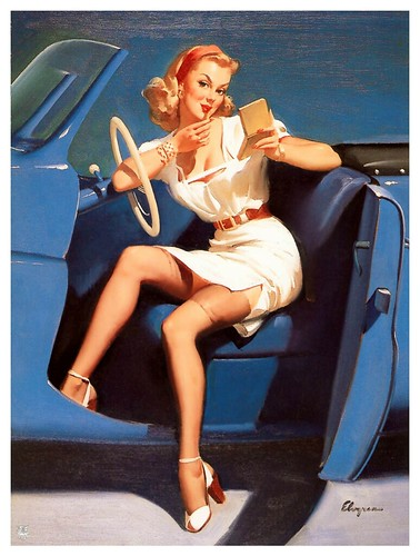 018-Gil Elvgren-sin fecha- via Imagenetion-Virtual Pin-ups Art Gallery