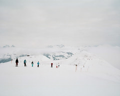 (Mike Baluk) Tags: snow austria kitzbuhel skiing mamiya7 kodakvc