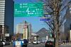 Seoul road signs