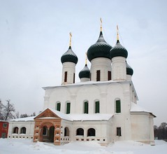 (akk_rus) Tags: city church temple nikon cityscape russia cityscapes dome yaroslavl      d80 nikond80