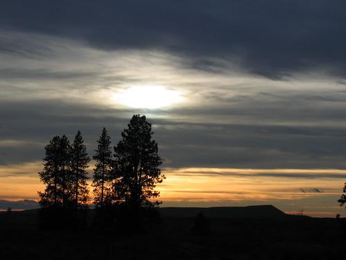 Amber Lake Sunset 1
