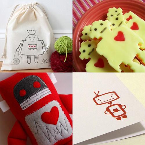 {Window Shopping} Love Robots