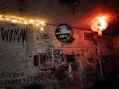 Mars Bar Interior, East Village, New York City 54 (Vivienne Gucwa) Tags: city nyc newyorkcity urban eastvillage ny newyork grit mural decay manhattan dive urbanexploration gothamist lowermanhattan curbed bukowski urbanphotography marsbar divebar wnyc cityphotography marsbareastvillage marsbarinterior insidemarsbar