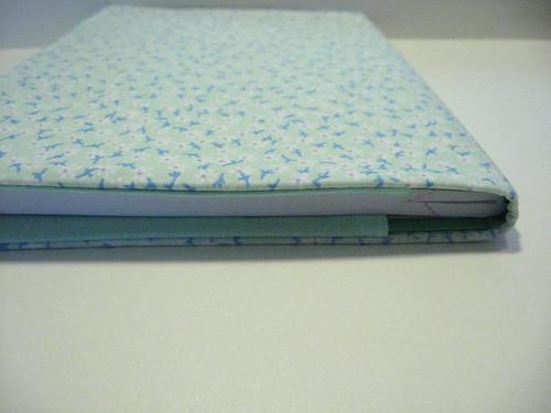 Material escolar: Encape cadernos com tecido