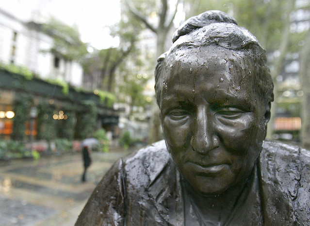 Statue of Gertrude Stein