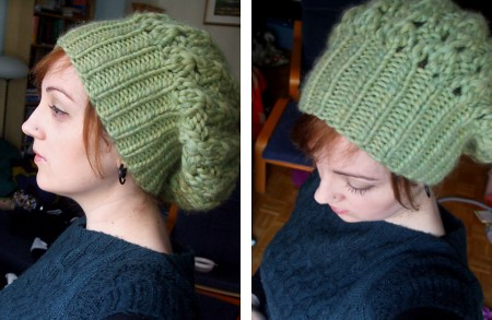 Shroom slouch hat