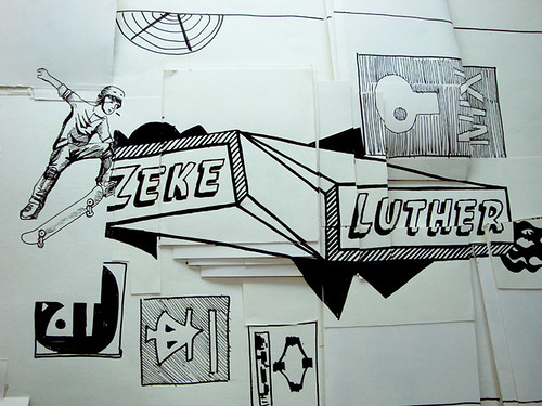 zeke and luther logo. zeke amp; luther