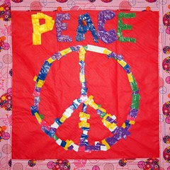 By Girl Scout Troop 1256 (2nd Grade Brownies)  Peace (The Dream Rocket Project) Tags: christmas family school trees people mountain newyork green art home water nova animal glitter kids trash stars religious washington community war paint peace kentucky space flag unitedstatesofamerica group cancer conservation diversity astronaut felt save aliens nasa clean explore health environment leader twintowers express olympic agriculture racism elementary planting abuse humans equality global facebook discover intolerance saturnvrocket presidentobama internationalfibercollaborative thedreamrocket