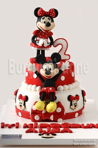 Minnie ve Mickey Mouse Pastasi