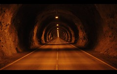 There Is...Light In The Tunnel... (Minkn) Tags: world road light mountain mountains color beautiful car norway dark walking spectacular lights norge scary rocks long driving colours sony norwegen tunnel norwegian there 1855mm northern vei meters frightening rogaland the in 3812 egersund islight frafjordtunnelen minkn specialshotswelltaken slta55v slta55