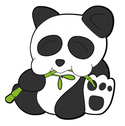 Oso Panda Dibujo