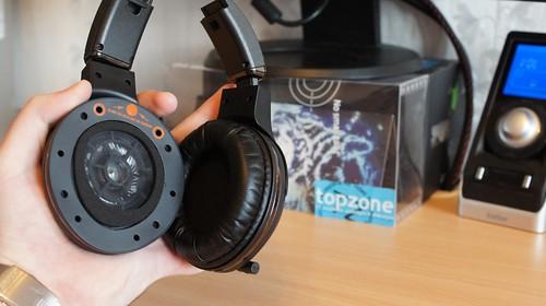 SteelSeries 7H USB žaidimų ausinės su mikrofonu