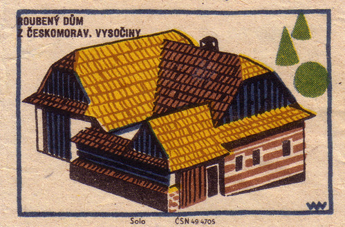 Timbered house from Ceskomoravia, Highlands
