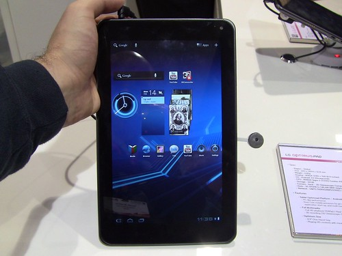 Tegra 2 powered LG Optimus Pad - MWC 2011