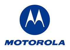 Motorola logo vertical blue