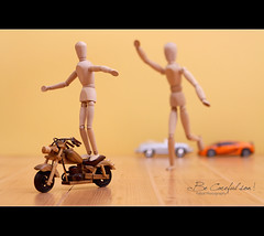 Be Careful son ! (Faisal | Photography) Tags: life car canon toys eos still funny l usm f28 ef 2470mm canonef2470mmf28l 50d mrwoody canoneos50d canon580exii faisal|photography فيصلالعلي