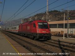 e 190 023 obb (fotolab treni) Tags: ec ferrovia treni eurocity obb domegliara